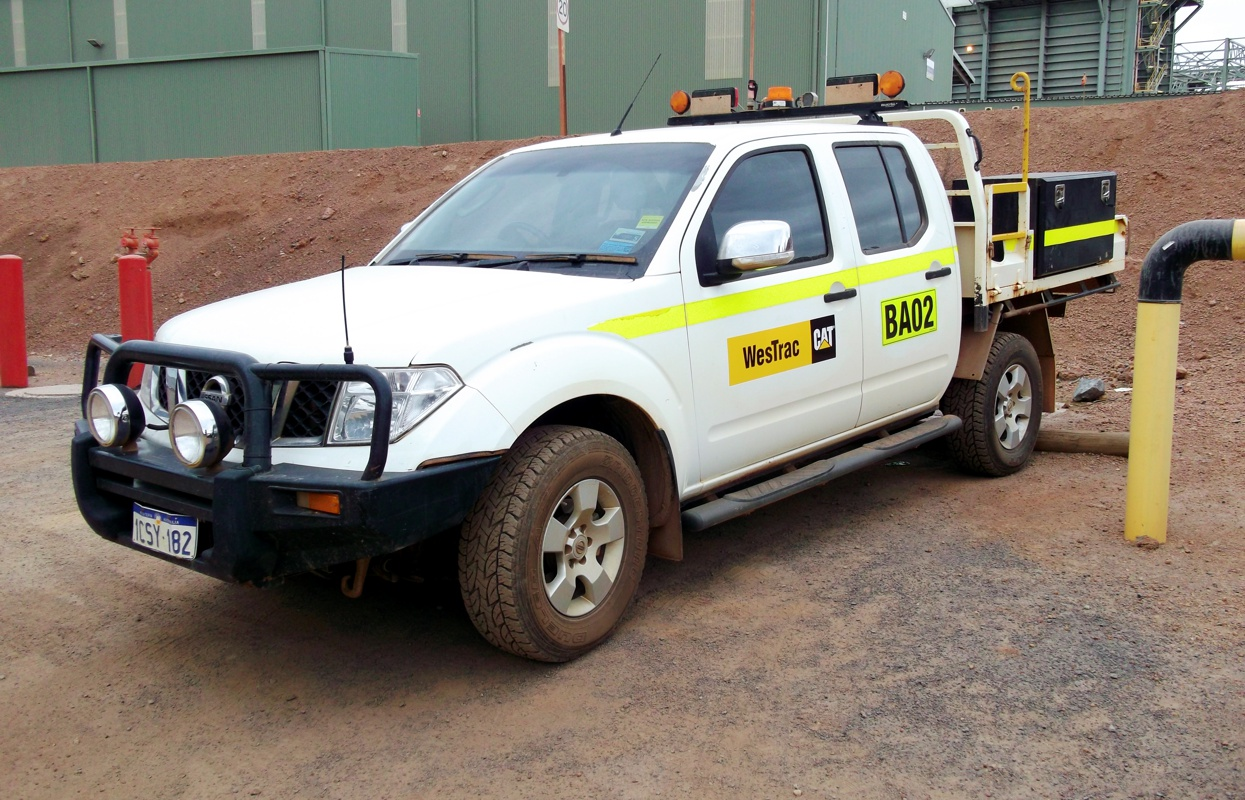 We helped WesTrac with their fleet identification signage