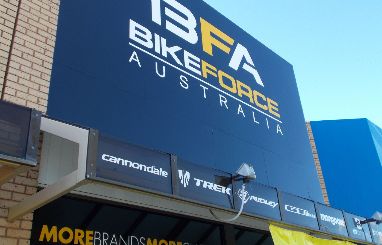 Bikeforce Fascia