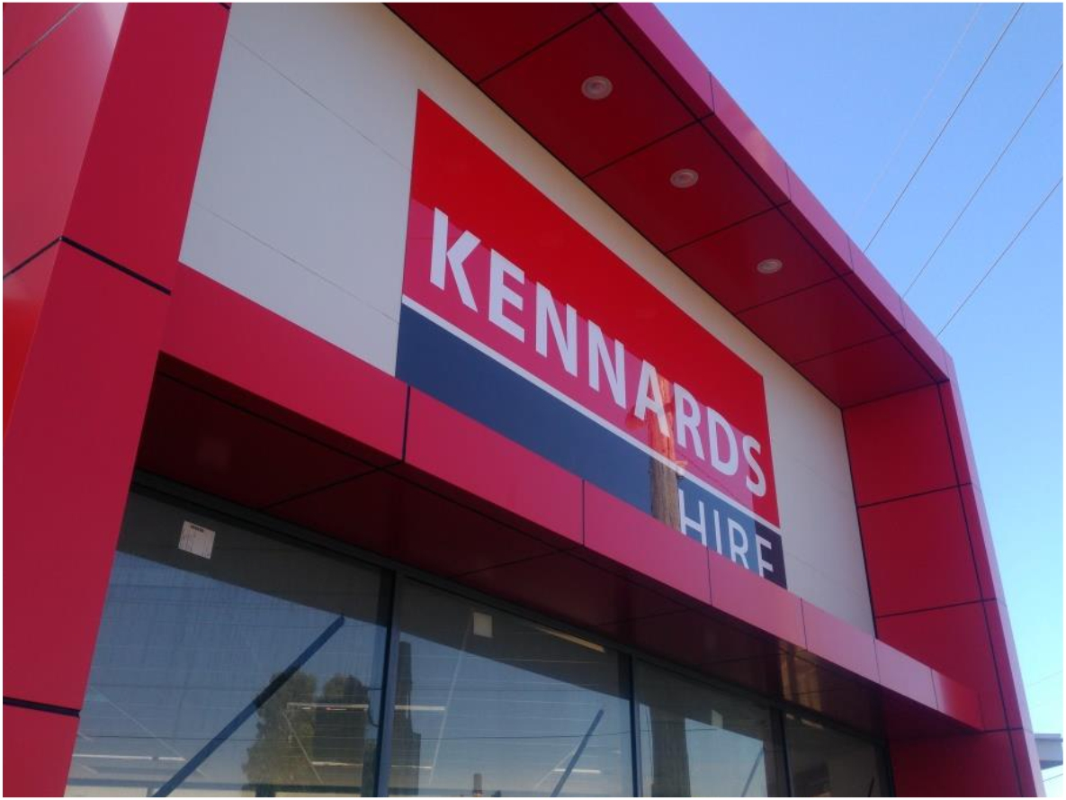 Custom Facia Signage, Kennards Myaree