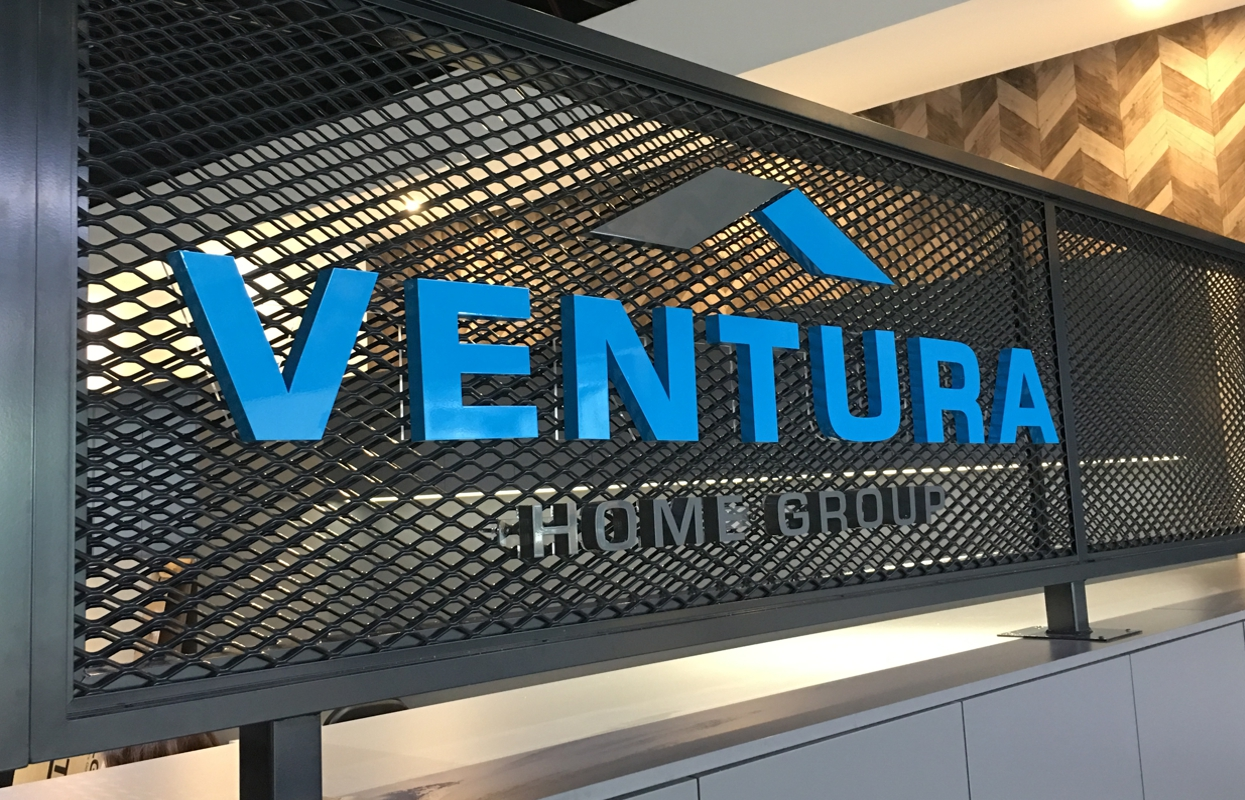 3D Reception Signage for Ventura Home Group