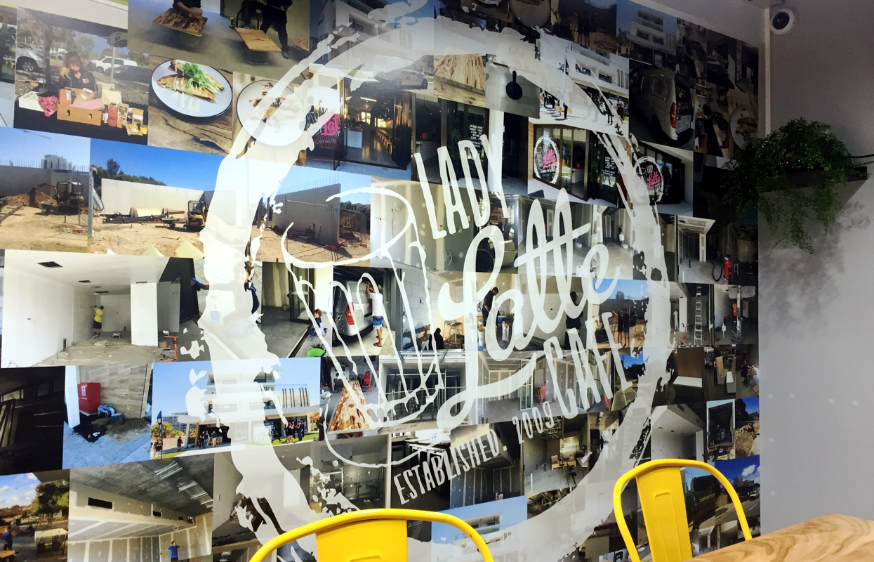 We are window and wall graphics specialists