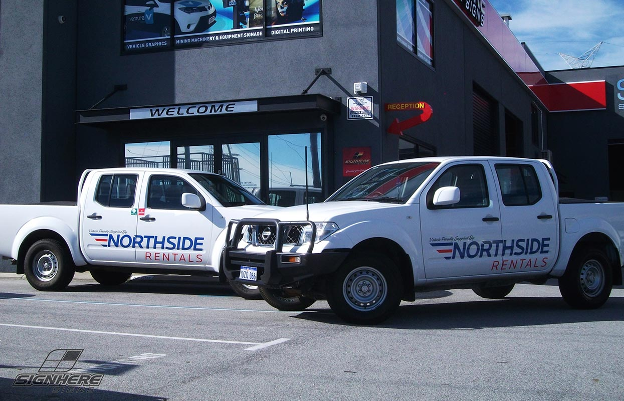 Northside Rentals Vehicle Graphics
