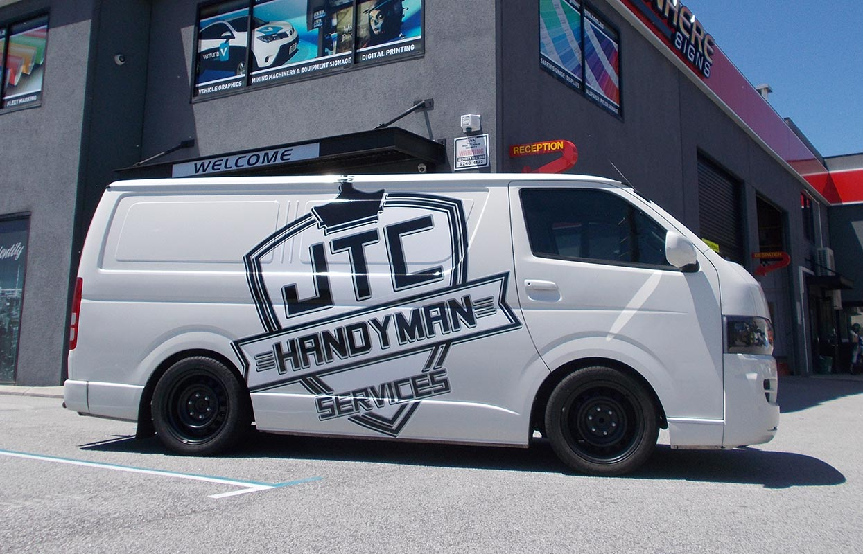 Car Vinyl Wrap Cost >> Vehicle Signage & Fleet Branding | Sign Here Signs, Perth