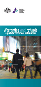 Cover of the Warranties and Refunds Guide