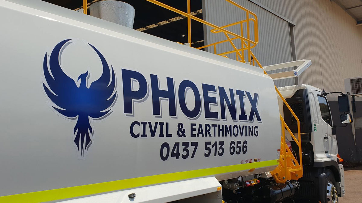 Mine-spec water cart for Phoenix Civil and Earthmoving