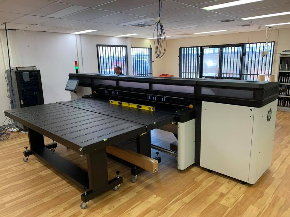 Our new HP Latex R2000 Printer