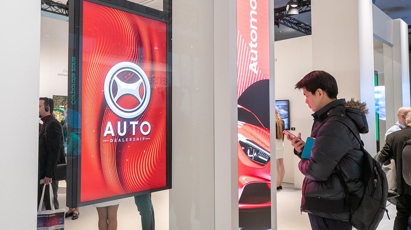 Samsung digital display solutions at ISE 2019