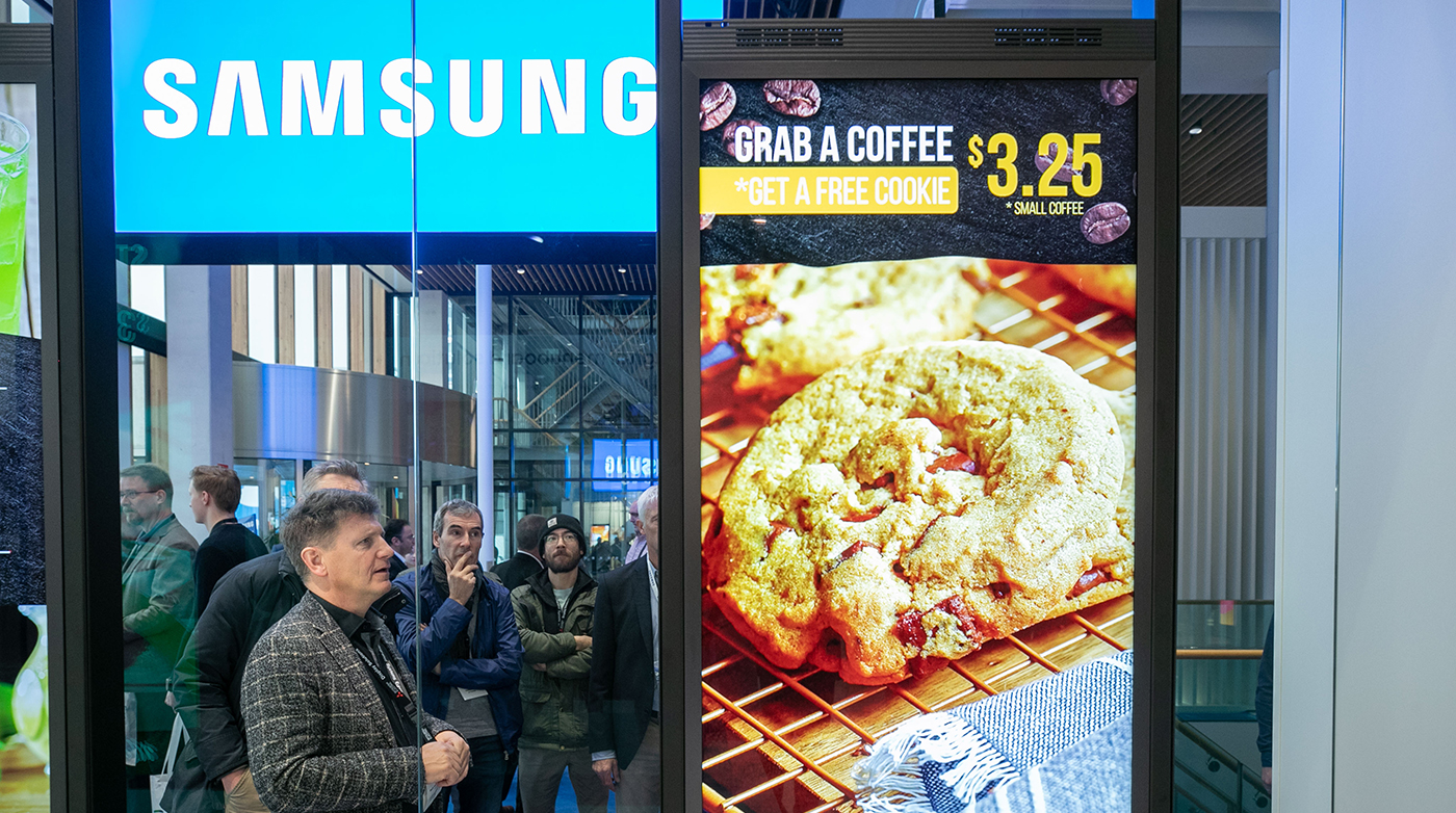 Samsung digital display solutions at ISE 2019