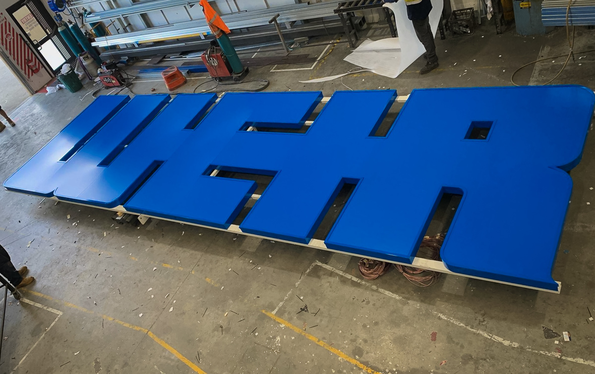 Building signage for Weir Minerals