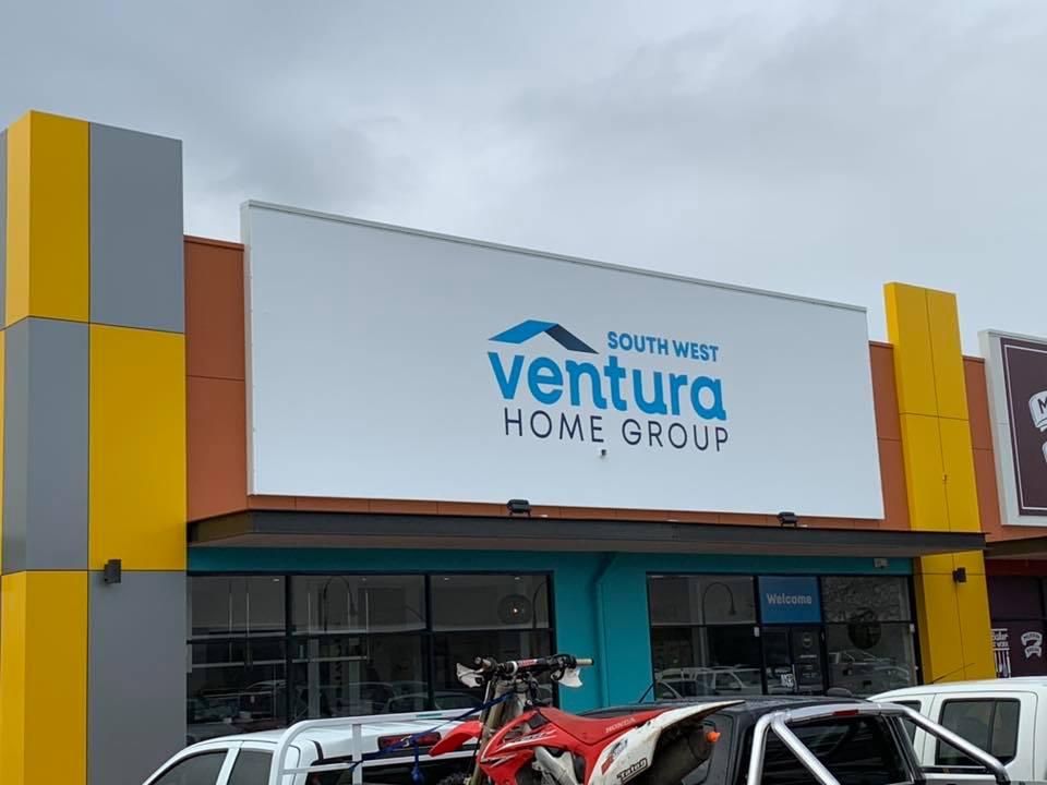 New facia signage for Ventura homes