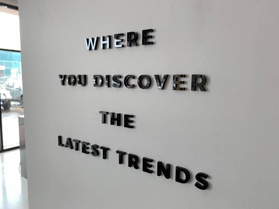 Venture Homes 3D lettering, Bunbury